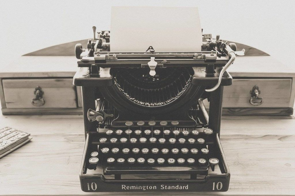 Free writing can help when the words don't come