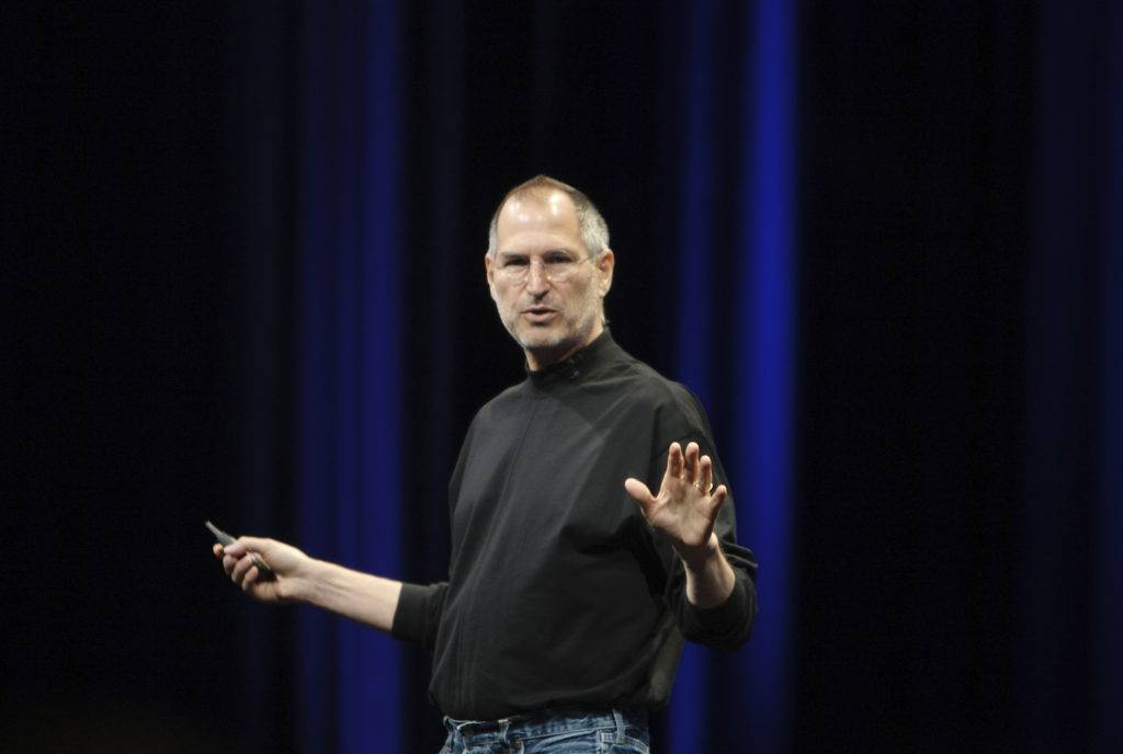 Steve Jobs: Be a yardstick of quality