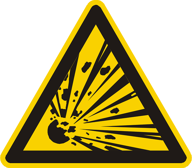 Explosion Sign