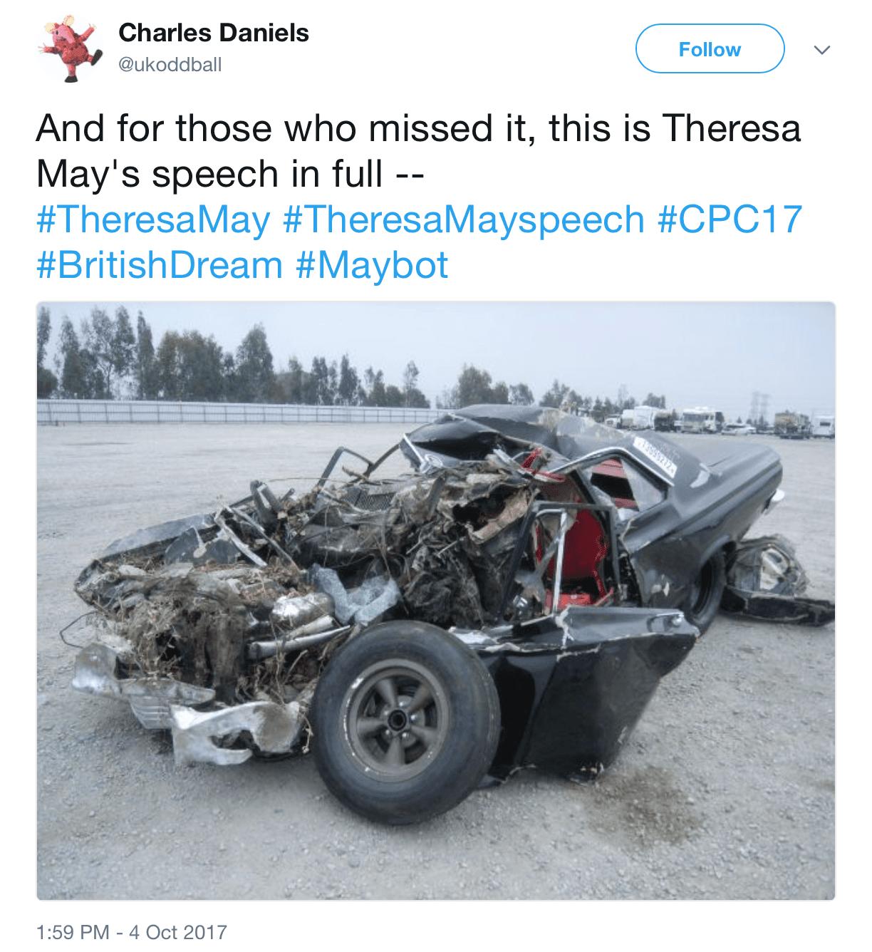 Theresa May had a terrible day