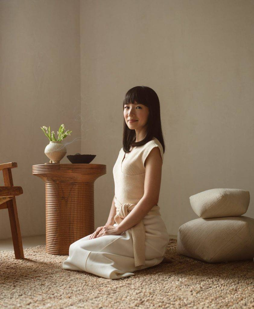 Marie Kondo, author of The Life-Changing Magic of Tidying Up