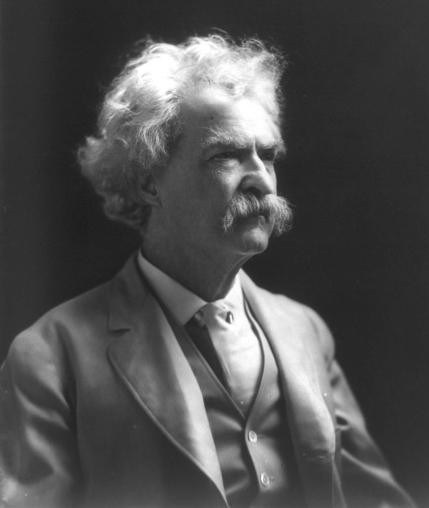 Mark Twain: A successful book