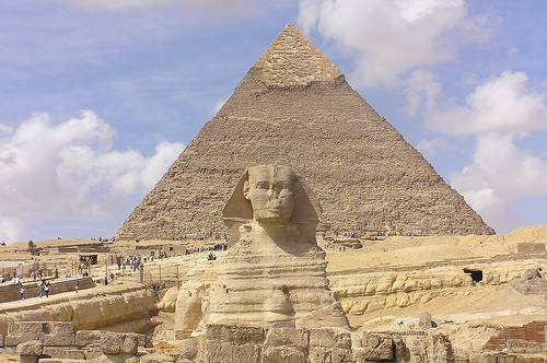Sphinx and Pyramid - Egypt