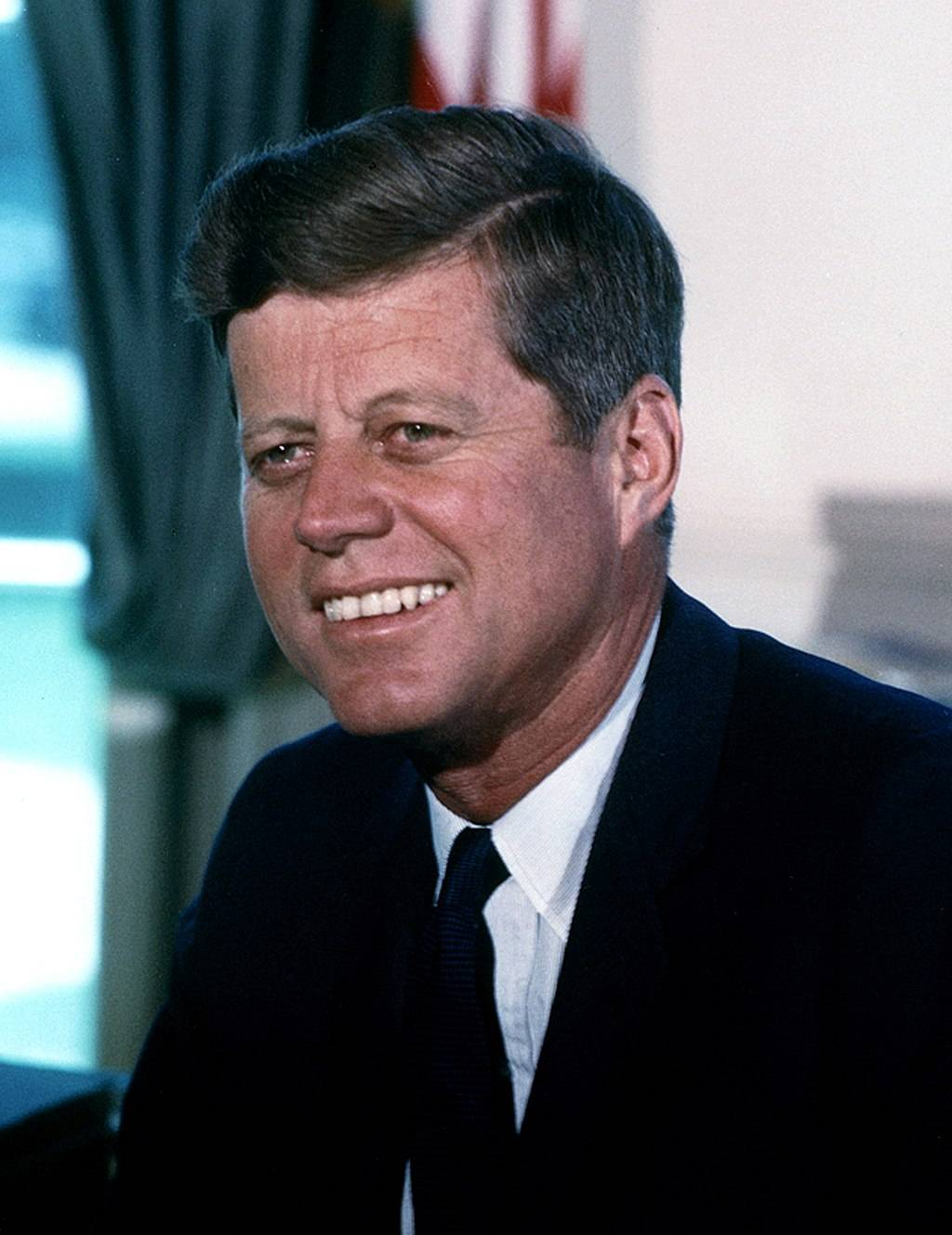 "John Kennedy: ""The only reason to give a speech is to change the world."""