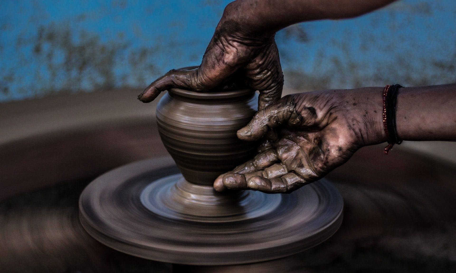 Pot of clay