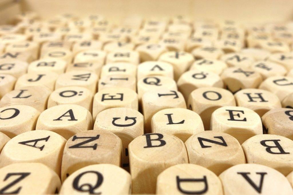 Public speaking alphabet